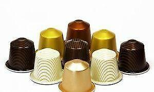 nespresso kapseln 100 kaffee pads ebay. Black Bedroom Furniture Sets. Home Design Ideas