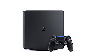 PS4 500GB + 2 controllers + controller dock station + 9 games