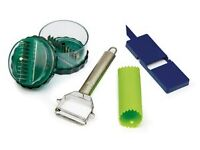 Cooks professional food and vegetable accessory set... brand new brand