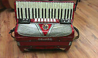 Accordéon piano Italienne 120 basses avec pick-up