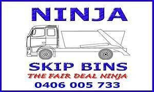 Ninja Skip Bin Hire - Best Price! Lidcombe Auburn Area Preview