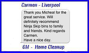 Skip Bin Hire - BEST PRICE! - FAST DELIVERY! Lidcombe Auburn Area Preview
