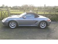 Porsche Boxster reg 2005. Only 39042 genuine miles. Full Service History. Outstanding car for age
