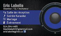 Dj chanteur Animateur mariage karaoke party compagnie