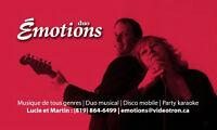Disco Mobile + Duo Émotions enr. - Musique de tous genres