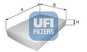 FILTRO-ARIA-ABITACOLO-IVECO-STRALIS-TRAKKER-MARCA-UFI-5307800