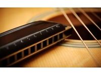 Bass, Guitar and Harmonica Tuition