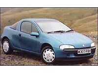AUTOMATIC Vauxhall Tigra WANTED old shape