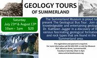 Summerland Museum Geological Bus Tours