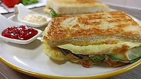 Onepan Egg Burger