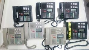 Meridian Norstar Phone System 10 Piece