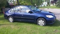 2005 Honda Civic SE Sedan LOW KM SAFETY AND E TESTED *NEW PRICE*