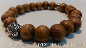 New Wood and Metal Buddha Beads