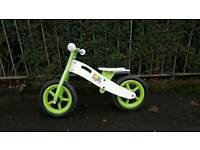 Balance bike green used