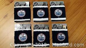 6 New Official NHL Edmonton Oilers Wristband