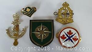 Military Badge Lot of 5