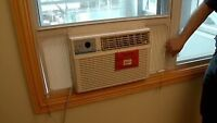 Pose air climatiser/reparation de moustiquaire/porte-patio!