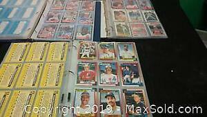 Binders full of baseball cards
