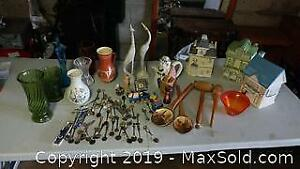 Souvenir Spoons, Cookie Jars, More
