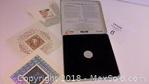 1999-2000 coin & stamps set in tin