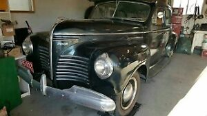 1940 PLYMOUTH P10 IN EXCELLENT ORIGINAL CONDITION