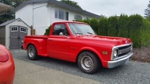 """Rare"" 1970 Cevy Stepside 350 crater motor"