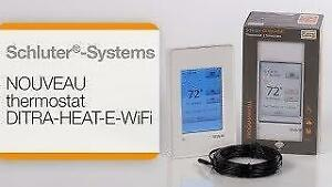Schluter DITRA-HEAT-E-WiFi Thermostat ( DHERT104/BW ) - NEW!!   FREE SHIPPING!!