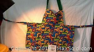 child size Superman apron (fits approx. 1-5 years)