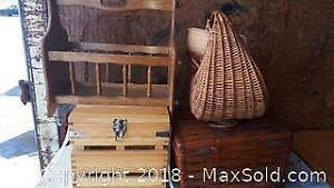 Wood and wicker