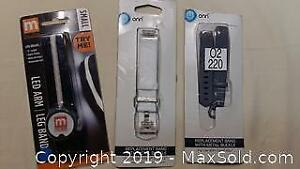 New Watchband and LED Band Lot