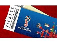 X2 World Cup Russia Quarter finals -- perfect seats