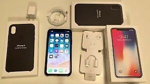 iPhone X 64GBs, Perfect condition with AppleCare+   $950
