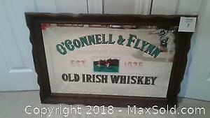 O'Connell and Flynn - Old Irish Whiskey Sign