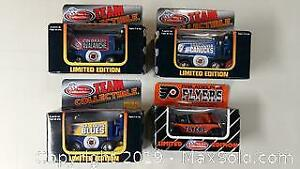 New Collectible Official NHL Zamboni Die Cast Toys - Sports Team Themed