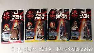 New Star Wars Action Figures Lot
