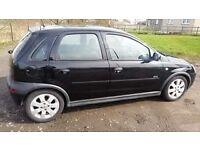 Vauxhall corsa sxi alloy weels CD player long mot