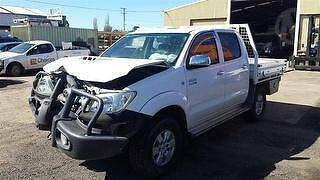 NOW WRECKING 2010 TOYOTA HILUX SR5 3.0L DIESEL 4WD-PARTS CENTRAL Austral Liverpool Area Preview