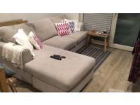 Three Seat Sofa & Armchair