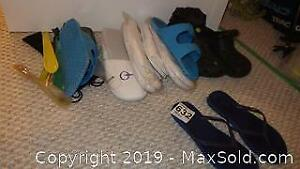 Sandals Slippers And More B