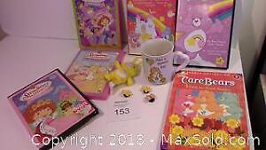 Care Bears & Strawberry Shortcake items