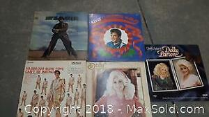 Records Lot of Dolly Elvis Johnny A