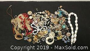 Large Lot of Jewelry. Sterling and Diamonds Included ...HW
