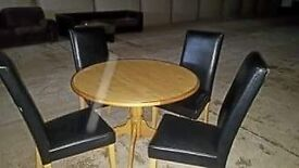New table an chairs