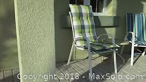 4 Cushions for Patio Chairs
