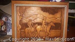 Kim Murray wood art
