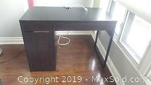 Ikea Brown Office Desk