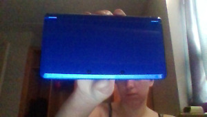 Blue Nintendo 3DS, gently used.
