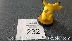 Pokemon Pikachu amiibo -Nintendo, Super Smash Bros