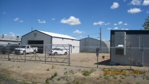Commercial building with fenced compound FOR SALE $299000.00
