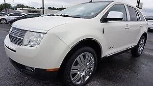 2008 Lincoln MKX SUV AWD with headrest DVD